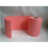 Size 138mm 88mm for red color Wood Pulp Air Filter Paper