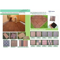WPC DIY Tile/WPC flooring/