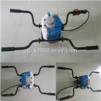 new type two man earth auger earth drill ground drill auger
