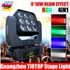 TIPTOP Stage Light 3x3x10W RGBW 4in1 LED matrix beam moving head light 90V-240V DMX 16/47 channel