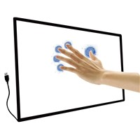 2, 6, 10, 16 touch point multi-size IR infrared touch screen monitor
