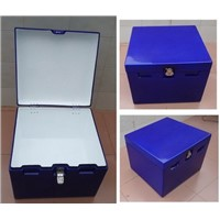 Motorcycle Delivery Box  with Waterproof Rubber Cushion