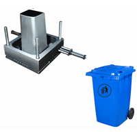 Taizhou Plastic Injection Outdoor Dustbin Mould