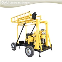 Trailer Mounted Hydraulic Feeding Core Drilling Rig