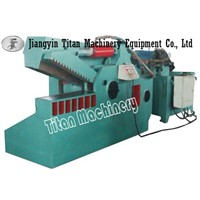 metal scrap shearing machine cutting machine cutter