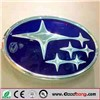 Wall Mounted Metal Frame Acrylic Car Logo,3D LED auto sign