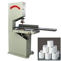 XY-AI-300 Semi automatic small toilet paper roll cutting machine