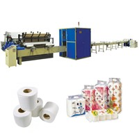 XY-TQ-A-D High speed toilet tissue paper production line