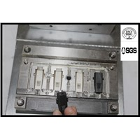 DC female mold  1*4 plastic injection mold  factory direct