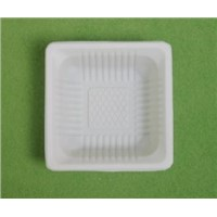 disposable tableware / biodegradable tableware / party food tray / one - off food packaging