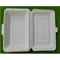 disposable tableware / biodegradable tableware / takeaway lunch box