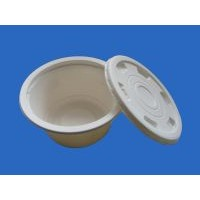 disposable tableware / biodegradable tableware / takeawy bowl / one - off food packaging