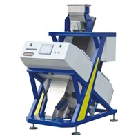 small machine vision rice color sorter machine made in china