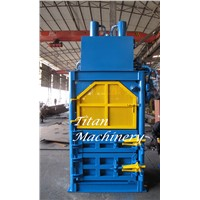 scrap oil drum baler compactor bale baling press machine