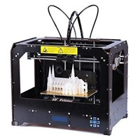 LCD Display Large Print Size 3d Printer China with PLA/ABS