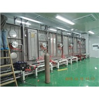 ITO conductive glass magnetron sputtering coating production line
