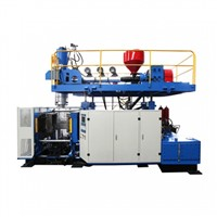 Single Station PE Extrusion Blow Machine 60L-120L