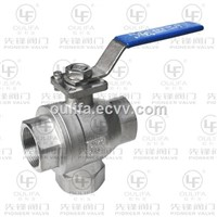 Vertical 3 Way Ball Valve Mounting