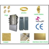 PVD goldening & silvering ceramic tile decoration equipement