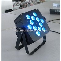 12PCS RGBAW UV LED Lighting DMX LED Par