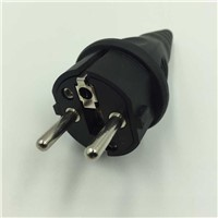 French style rubber industrial plug, waterproof rubber plug
