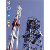GSM telecommunication antenna galvanized microwave tower for antennas