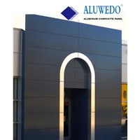 A2 Fireproof aluminum composite panel