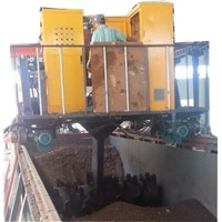 Animal Manure Compost Turner Machine for Bio Fertilizer Compost