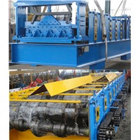 Steel Structure Floor Roll Forming Line Deck Floor Making Machine
