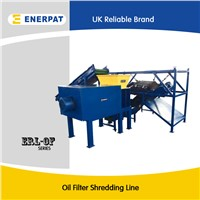 Oil filter shredder recycling machine for sale with CE
