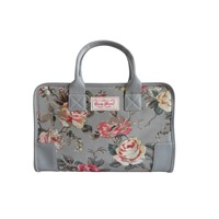 Mulit-Purpose Floral Printed Ladies  Laptop Handbag