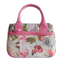 Candy Flowers Double Layers Mini Handbag