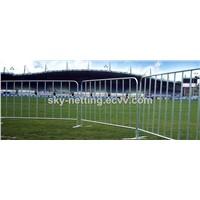 Galvanized steel  Used Concert Crowd Control Barriers