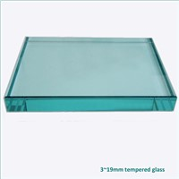 Manufacturer supply 3-19mm flat bent tempered-glass for door & window with 3C/CE/ISO certificates