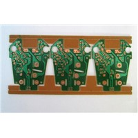 OSP green/white color solder mask singler layer PCB