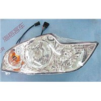 Original HIGER parts for all models at competitive prices headlight