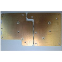 PCB double Sided whole board finished with gold