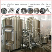 1000L beer brewery equipment micro brewhouse for sale