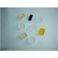 colored optical glass filter
