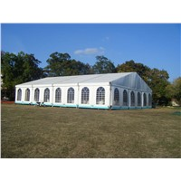 Beautiful decoration luxury permanent party tents for outdoor banquet wholesale