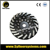 High quality diamond grinding tool abrasive Rapid Segments Diamond Cup Wheel