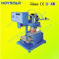 One color closed ink cup pad printing machine