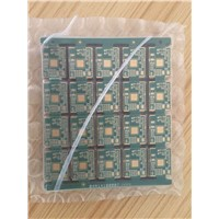 half hole both side process immersion Gold 8 layers PCB