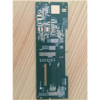 halogen-free green color immersion Gold 2 layers printed circuit board