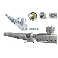 Automatic high performance pipe extrusion line