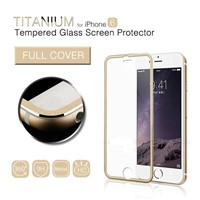 Full Edge Coverage Alloy 0.26mm Tempered Glass Film Screen Protector for iPhone 6 6s Plus MSP891TS