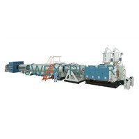 HDPE (High-Density Polyethylene) Pipe extrusion line