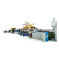 HDPE Large-Diameter Hollow Wall Coil Pipe production line