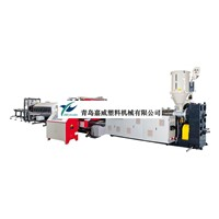 HDPE. PVC Double-wall Corrugated Pipe extrusion line