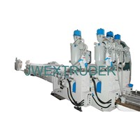 PVC four outlet pipe production line